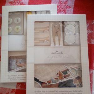 HALLMARK SIGNATURE SHADOW BOX ACCESORY KIT(S)
